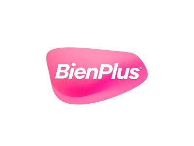 BienPlus | Logo icon logo illustration branding symbol product logo graphic design pink products medical logo design pharma
