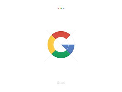 Google mark icon redesigned flat 2d geometric 2d flat adobe xd adobexd vector mark icon logomark branding improved redesign interpretation geometric geometry google redesigned logo design logo