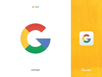 Google mark icon redesigned adobe xd adobe ilustrator vector geometric logomark branding symbol logo design design logo