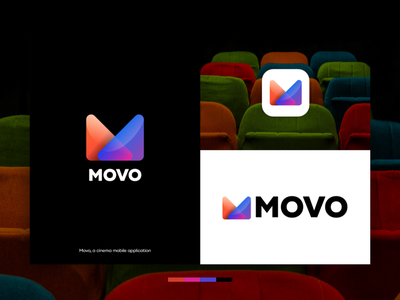 MOVO | Logo and app icon business mark trend social ticket product mobile vector icon mobile app logomark logo symbol branding logo design design