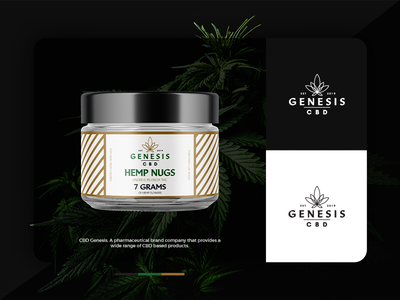 CBD Genesis | Logo | Packaging