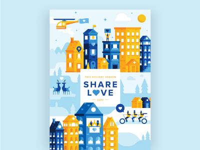 Healthcare Holiday Card holiday card healthcare
