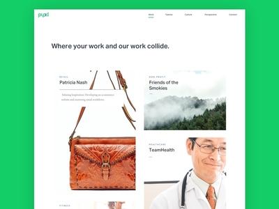 Pyxl Website agency website website