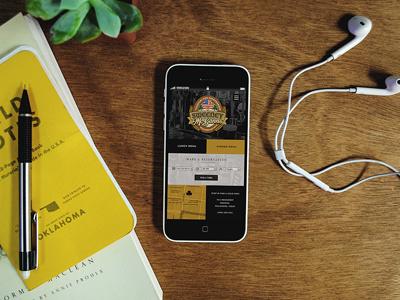 Sweeneys UI ui mobile pub branding iphone template