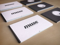 Muse — Business Cards Luxe by Moo v.1