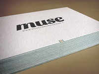 Muse — Business Cards Luxe by Moo v.2