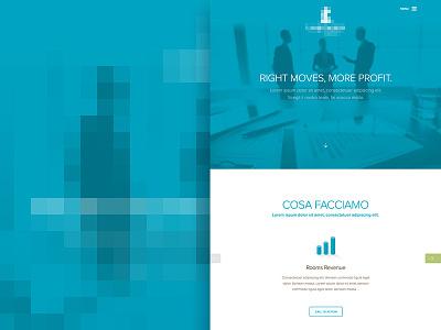 Revenue Branding Web muse comunicazione web design website branding flat flat design responsive business