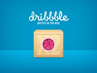 Dribbble x2 Invites