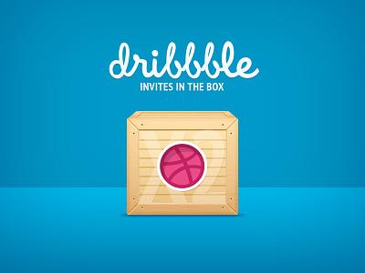 Dribbble x2 Invites muse comunicazione dribbble invites invitation giveaway box draft