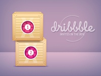 Dribbble Giveaway 2(new) Invites