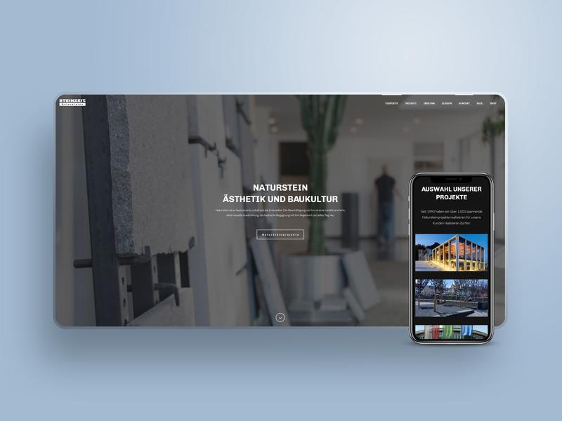 Webdesign for a small company wordpress design website responsive website photograhy fotografie