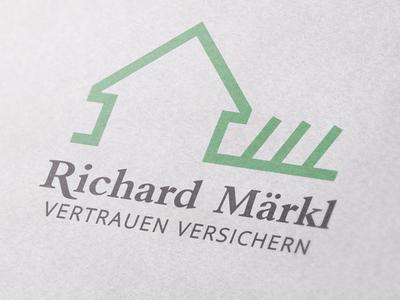 Logodesign for an insurance salesman hop nature logo green typography design illustration branding logo graphicdesign