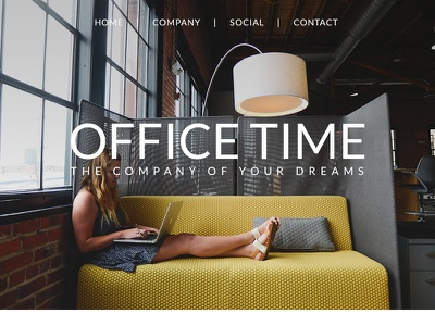 Office Time - Responsive Email + Builder Access design multipurpose photoshop ui website business web psd flat clean newsletter email