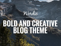 Wordie - Bold & Creative Blog Theme