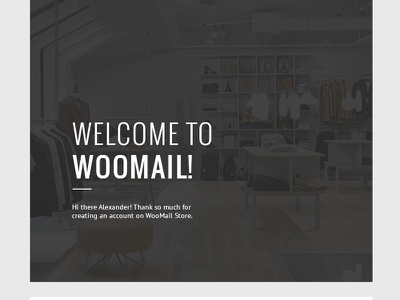 WooMail - Woocommerce Email + Builder Access invoice psd marketing woomail woocommerce shop shipping register order confirmation builder account