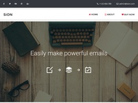 Sion - 200+ Modules Multipurpose Email + Builder Access