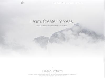 VSDocs - Documentation | Tutorial WordPress Theme