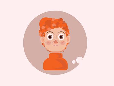 Boy illustration design art
