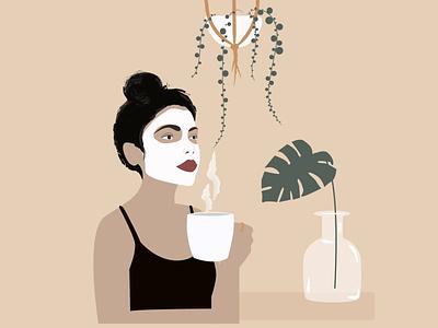 Quarantine illustration design art