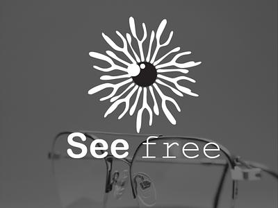 See free eye see logo design