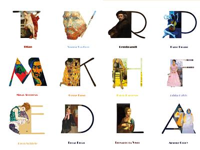 Arts & Letters painters letters design art