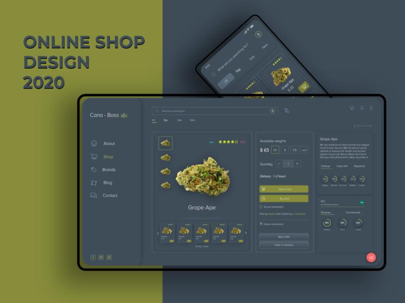 Online shop design logo illustration icon ui design uiux design mobile ui mobile amazon online store online e-commerce shop uiux