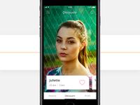Dating app - Profiles