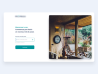 Choose new password - Real estate onboarding