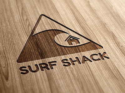 Surf Shack Logo surf shack surf shack wave warning logo
