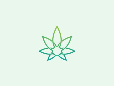 Hemp connect mark logo plant pharmaceutical medicinal drug oil natural leafs leaf medical cannabis hemp