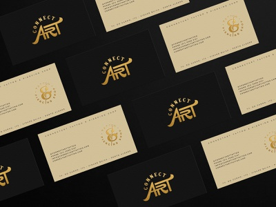 Branding for ConnectArt Tattoo connectart tattoo shop identity identidade visual graphic design brand identity design agency business card logo logo design branding brand identity design tattoo branding