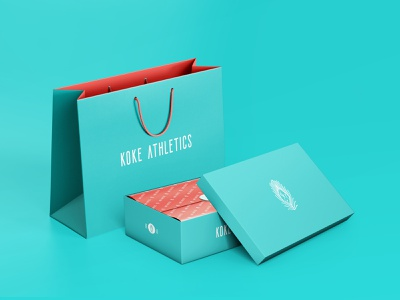 Branding and Packaging Design for Koke Athletics apparel logo apparel design clothing brand marca de roupa sports healthy lifestyle sport gym fitness shoes clothing apparel wear box bag packaging design package design packaging branding