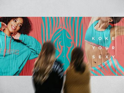 Branding for Women Activewear - Koke Athletics branding studio identity design packaging design identidade visual identity graphic design design logo logo design branding