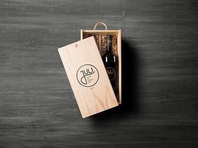 Juli Côtes du Rhône AOC identity design embalagem vinho box label wine design design packaging branding wine
