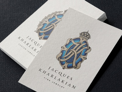 Branding work for JK jewelry designer by INDUSTRIA Dribbble