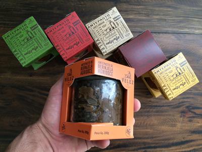 Packaging design for VELEZ