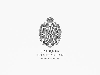 Black and white logo version logo para joalheria criação de marca desenvolvimento de marca logo arquitetura architecture architect logotipo logos identity logo branding logo design