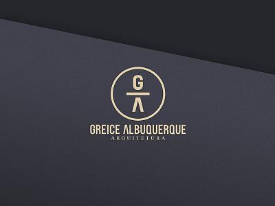 Greice Albuquerque Arquitetura designer brazil graphic design design logo architecture architect logo design branding