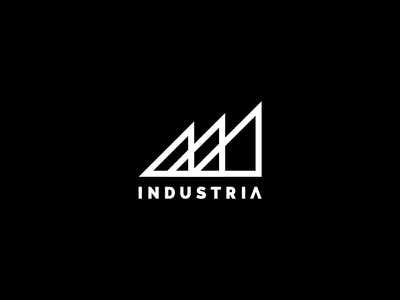 INDUSTRIA NEW LOGO tattoo logo hed branding industriahed designer logo design logo branding studio branding agency branding