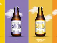 Santa Kombucha - Packaging Design