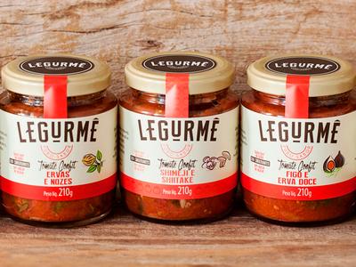Packaging design for Legurmê