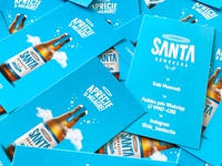 Business Cards Design / Santa Kombucha