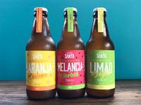 Branding & Packaging Design for Santa Kombucha