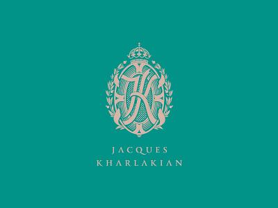 Elegant and traditional monogram sophisticated logo jewel coat of arms emblem monogram elegant jewellery jewelry byindustria identidade visual industriahed packaging logo logo design branding