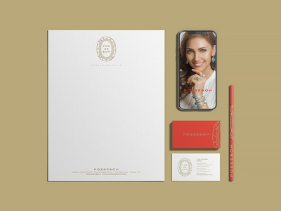 Stationery deign for jewelry