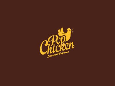 PopChicken Logo Design