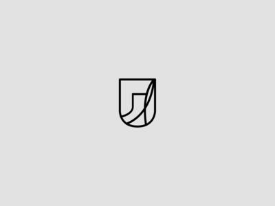 Abstract minimal logos icon shape-01