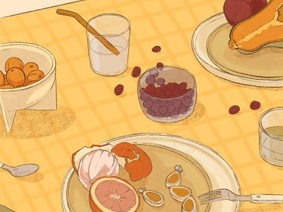 Delicious still life foodie food and drink artwork adobe fresco recipies packaging illustration book illustration pottery drawing colourful stilllife drinks fruits editorial illustration freelance illustrator food styling setting digital illustration food illustration