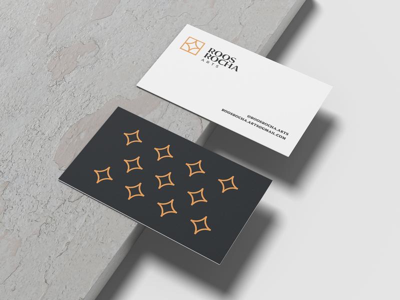 Branding - Roos Rocha graphicdesign logoinspiration logotype artist art minimal logo branding flat design