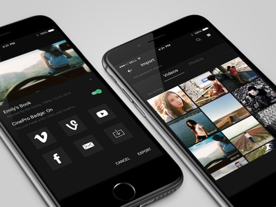 CinePro App with Material Design
